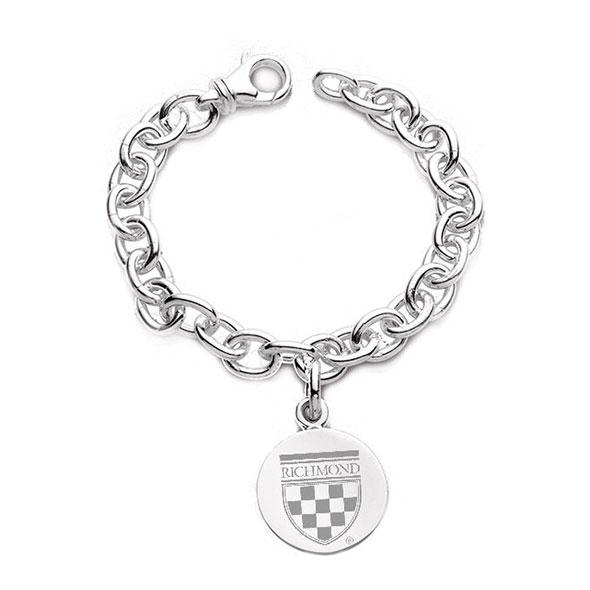 University of Richmond Sterling Silver Charm Bracelet