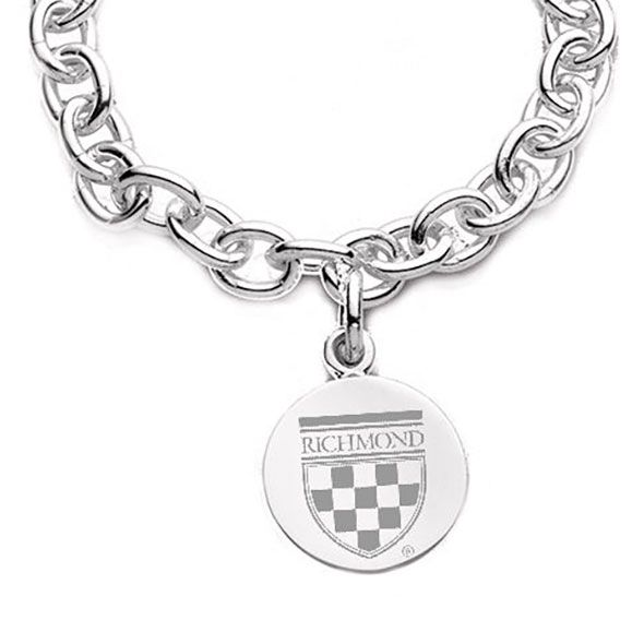 University of Richmond Sterling Silver Charm Bracelet - Image 2