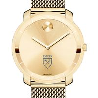 Emory University Women's Movado Gold Bold 36