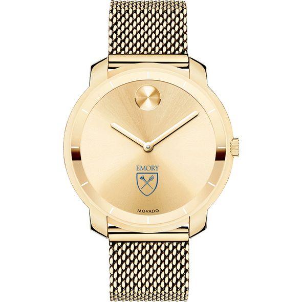 Emory University Women's Movado Gold Bold 36 - Image 2