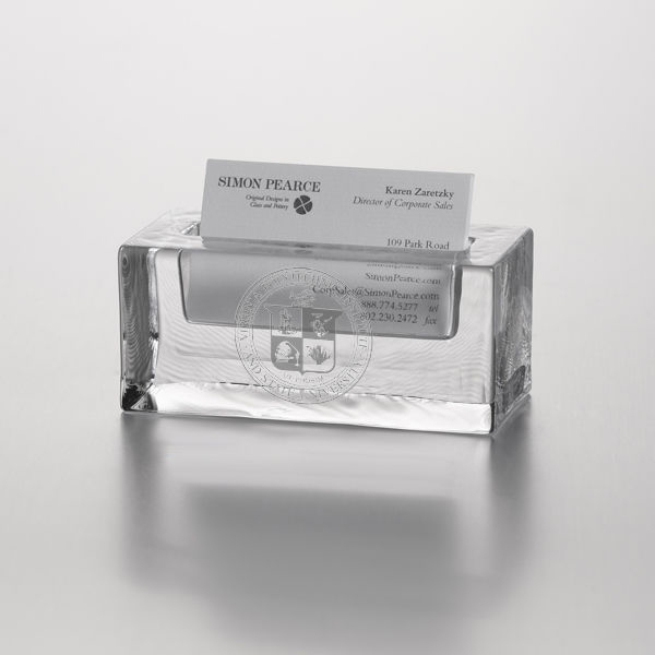 VT Glass Business Cardholder by Simon Pearce - Image 2