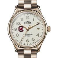 South Carolina Shinola Watch, The Vinton 38mm Ivory Dial