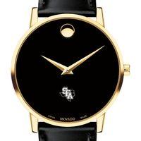 SFASU Men's Movado Gold Museum Classic Leather