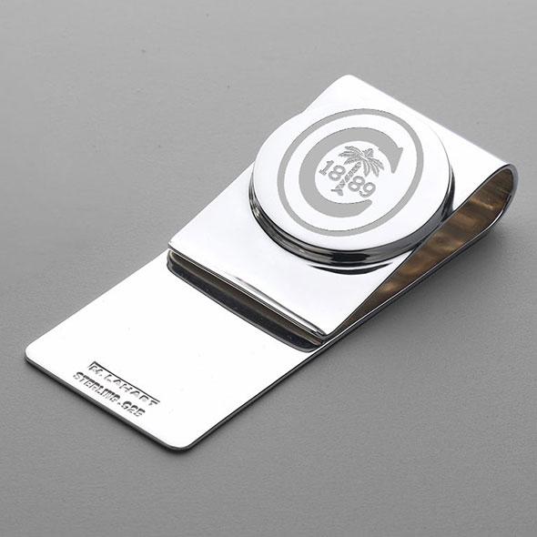 Clemson Sterling Silver Money Clip