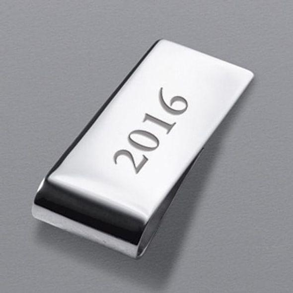 Clemson Sterling Silver Money Clip - Image 3