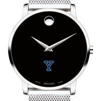 Yale University Men's Movado Museum with Mesh Bracelet