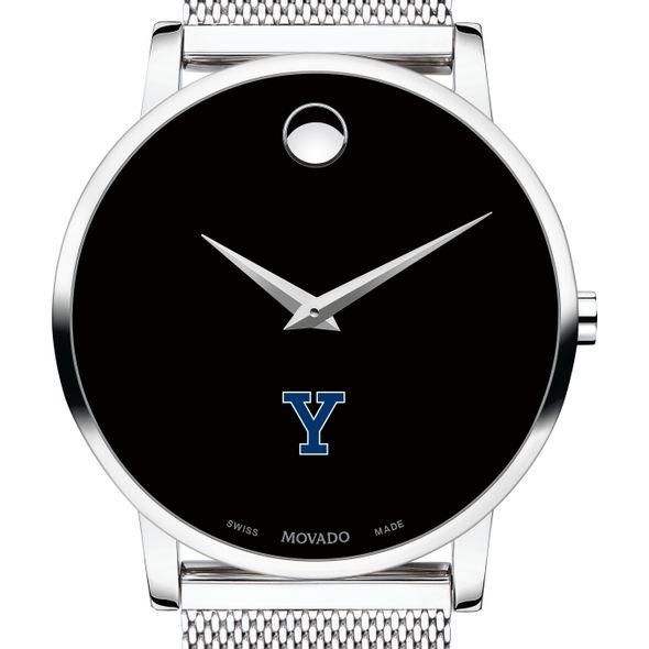 Yale University Men's Movado Museum with Mesh Bracelet - Image 1