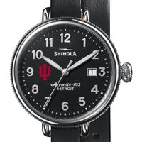 Indiana Shinola Watch, The Birdy 38mm Black Dial