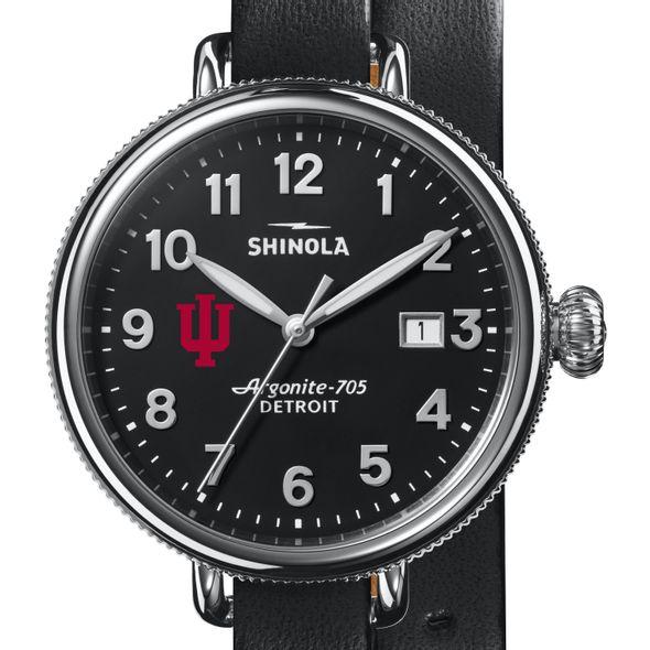 Indiana Shinola Watch, The Birdy 38mm Black Dial - Image 1