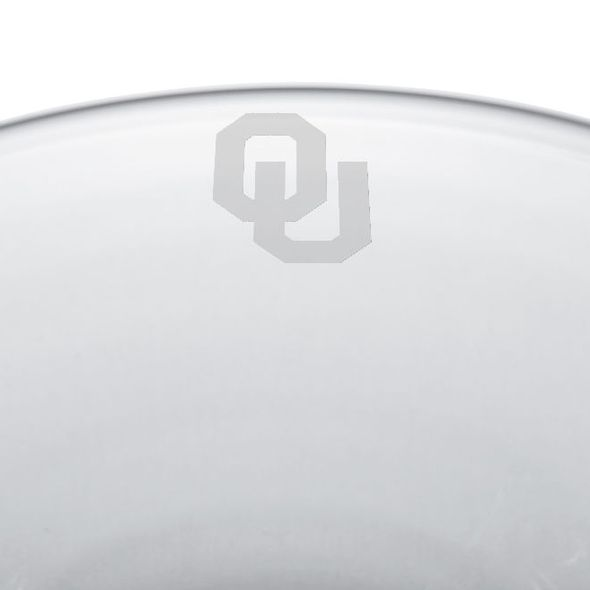 Oklahoma Glass Hanover Bowl by Simon Pearce - Image 2