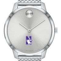 Northwestern University Women's Movado Stainless Bold 35