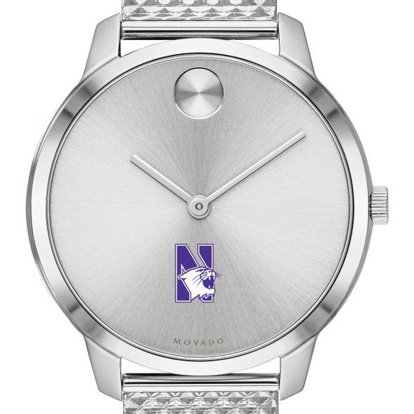 Northwestern University Women's Movado Stainless Bold 35