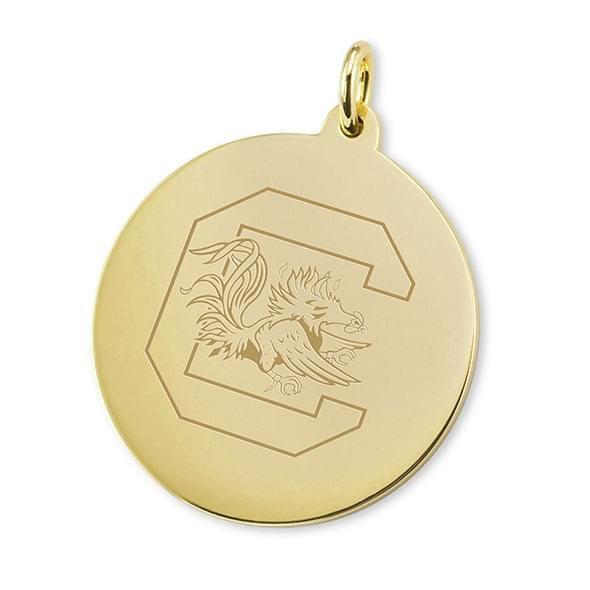 South Carolina 18K Gold Charm