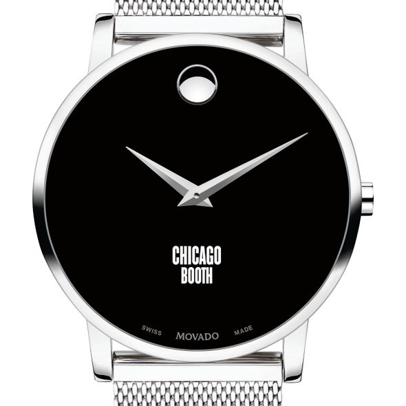 Chicago Booth Men's Movado Museum with Mesh Bracelet