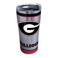 Georgia 20 oz. Stainless Steel Tervis Tumblers with Hammer Lids - Set of 2