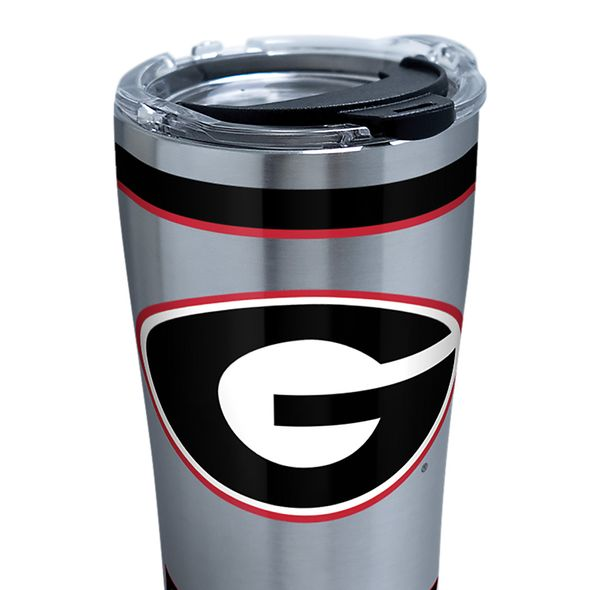 Georgia 20 oz. Stainless Steel Tervis Tumblers with Hammer Lids - Set of 2 - Image 2
