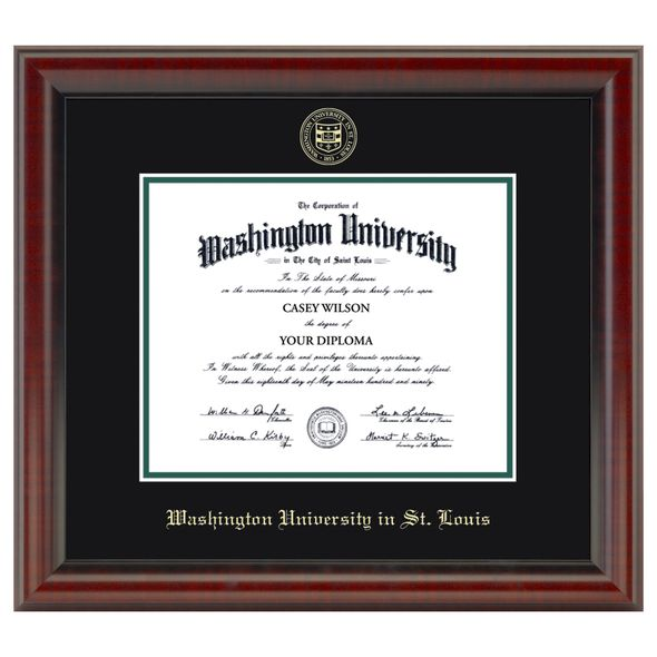 WashU Diploma Frame, the Fidelitas