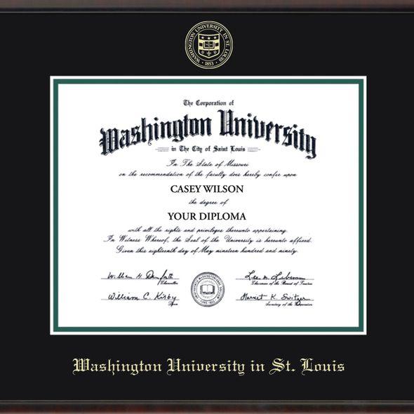 WUSTL Diploma Frame, the Fidelitas - Image 2