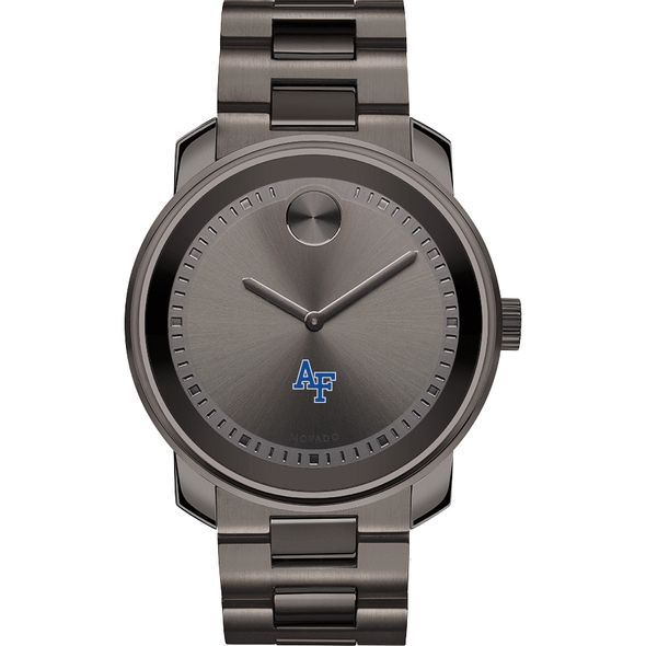 US Air Force Academy Men's Movado BOLD Gunmetal Grey - Image 2
