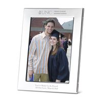 UNC Kenan-Flagler Polished Pewter 5x7 Picture Frame
