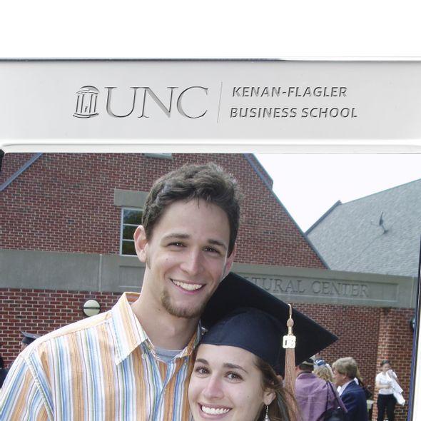UNC Kenan-Flagler Polished Pewter 5x7 Picture Frame - Image 2