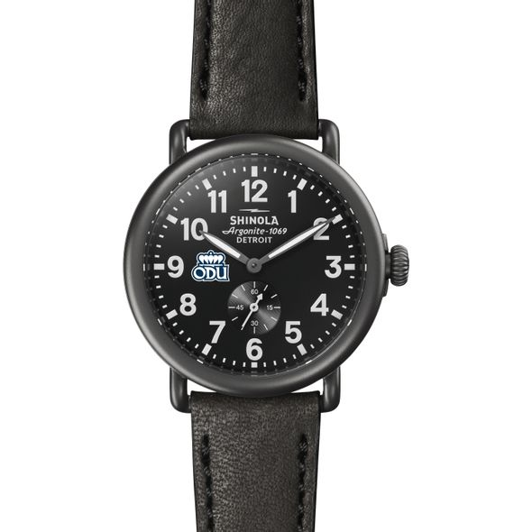 Old Dominion Shinola Watch, The Runwell 41mm Black Dial - Image 2