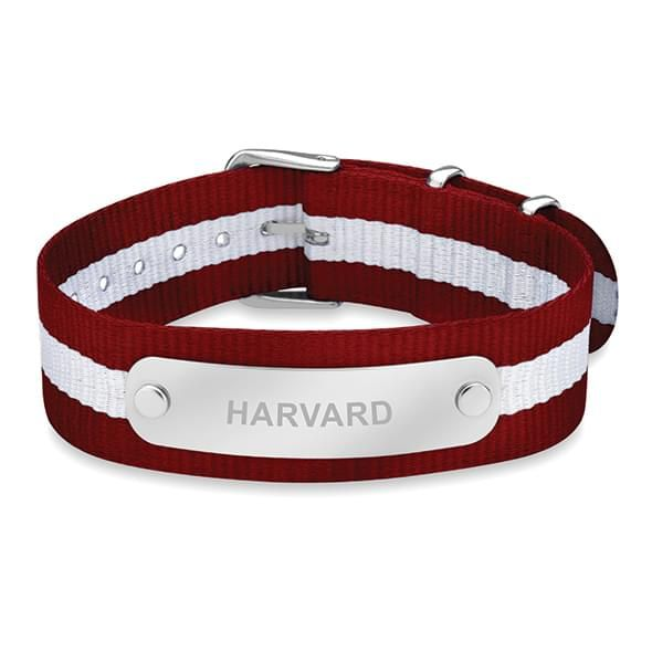 Harvard University NATO ID Bracelet