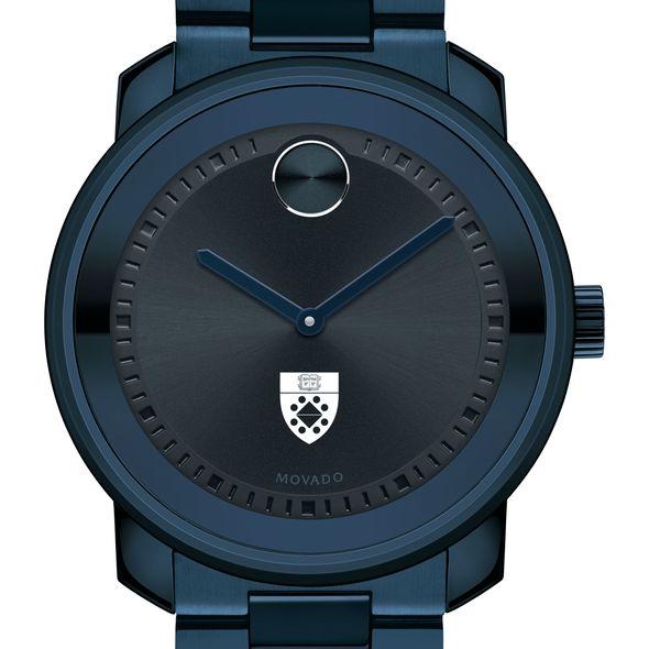 Yale School of Management Men's Movado BOLD Blue Ion with Bracelet - Image 1