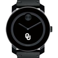 University of Oklahoma Men's Movado BOLD with Leather Strap