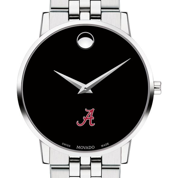 University of Alabama Men's Movado Museum with Bracelet - Image 1