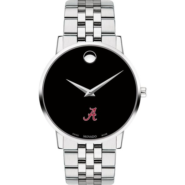 University of Alabama Men's Movado Museum with Bracelet - Image 2