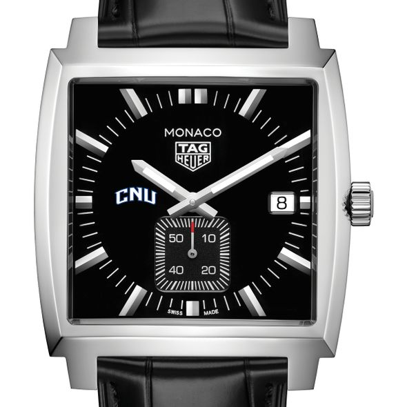 Christopher Newport University TAG Heuer Monaco with Quartz Movement for Men