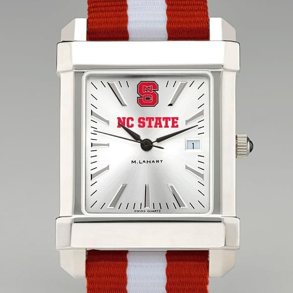 North Carolina State Collegiate Watch with NATO Strap for Men