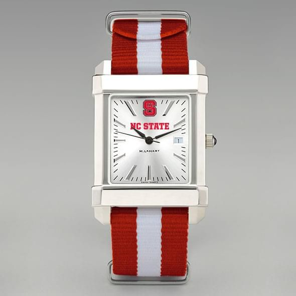 North Carolina State Collegiate Watch with NATO Strap for Men - Image 2