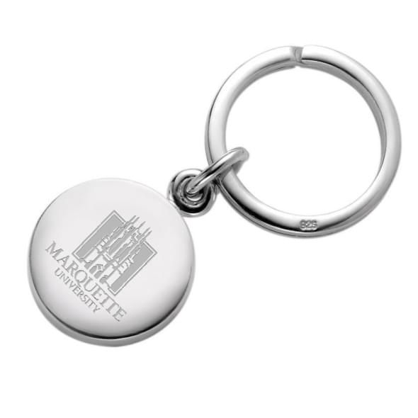 Marquette Sterling Silver Insignia Key Ring - Image 1