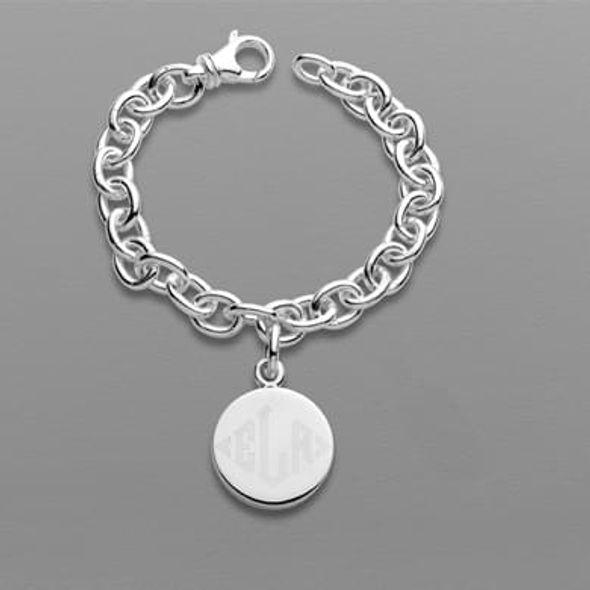 Sterling Silver Charm Bracelet - Image 1