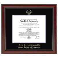 NYU Stern Diploma Frame, the Fidelitas