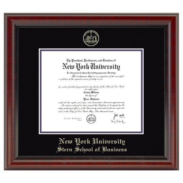 NYU Stern Diploma Frame, the Fidelitas - Image 1