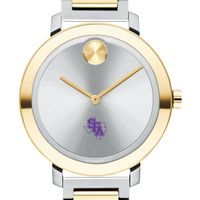 Stephen F. Austin State University Women's Movado Two-Tone Bold 34