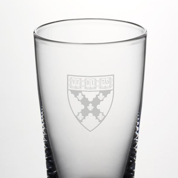 Harvard Business School Ascutney Pint Glass by Simon Pearce - Image 2