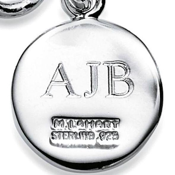 South Carolina Sterling Silver Insignia Key Ring - Image 3