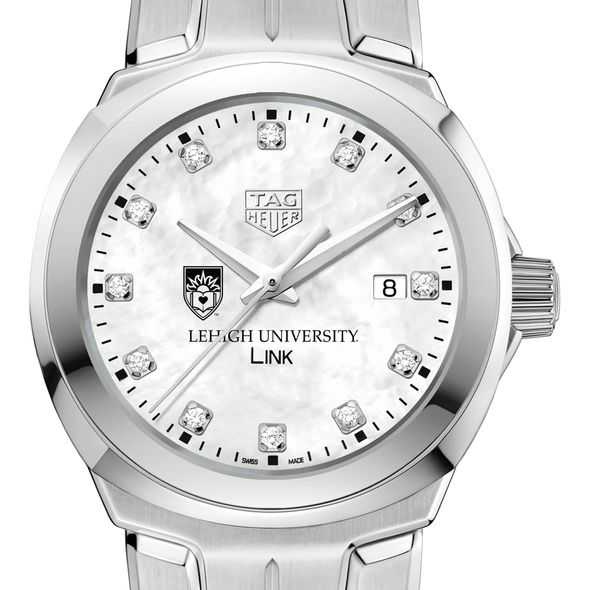 Lehigh University TAG Heuer Diamond Dial LINK for Women