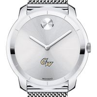 George Washington University Men's Movado Stainless Bold 44