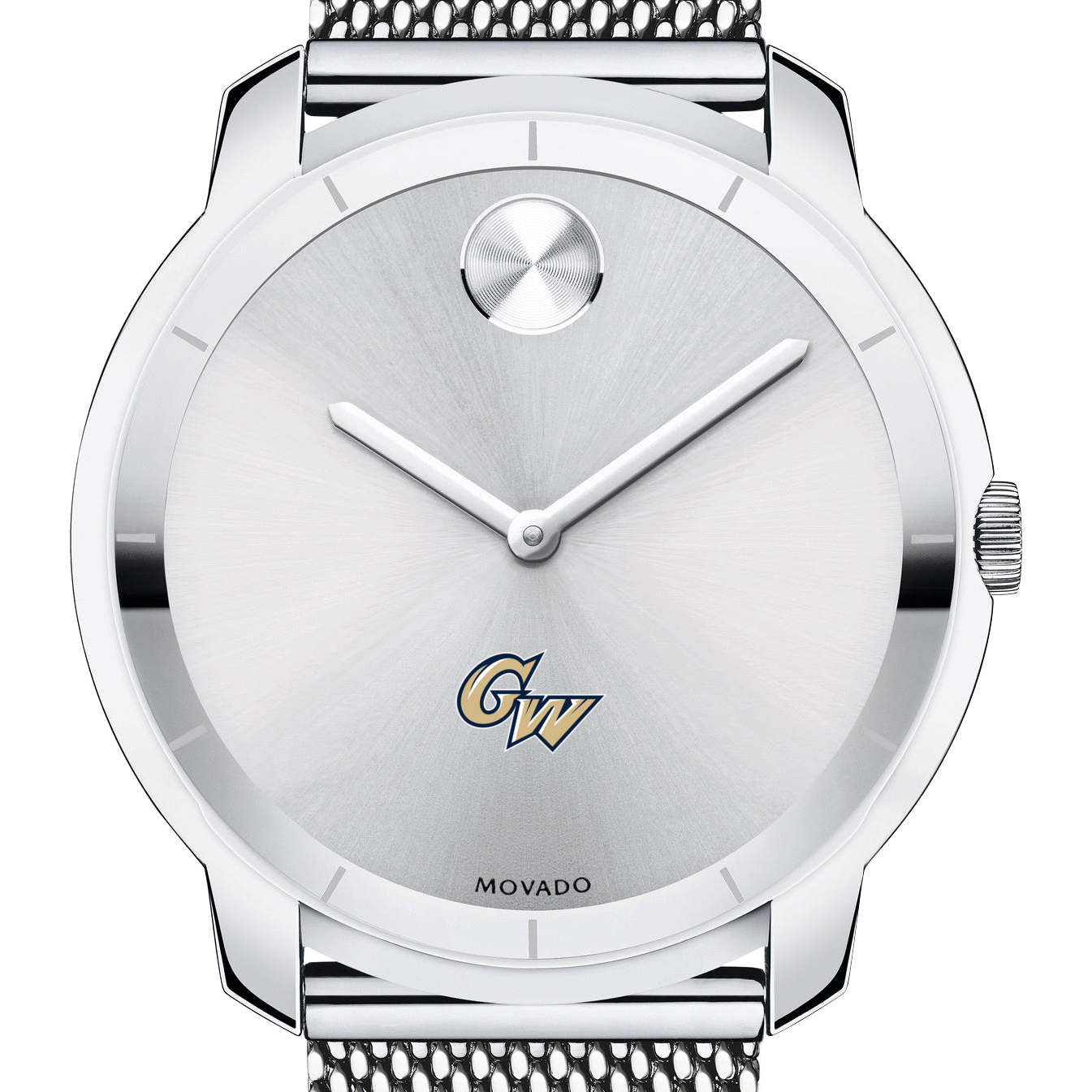 George Washington Men's Movado Stainless Bold 44