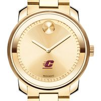Central Michigan Men's Movado Gold Bold