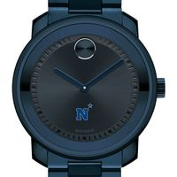 US Naval Academy Men's Movado BOLD Blue Ion with Bracelet