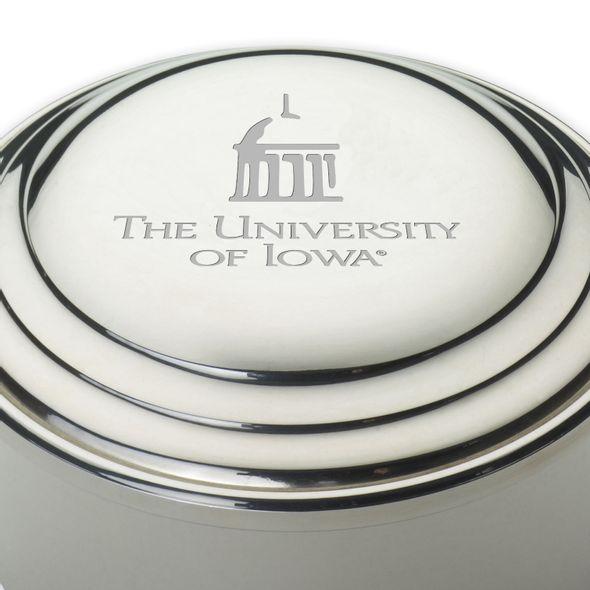 University of Iowa Pewter Keepsake Box - Image 2