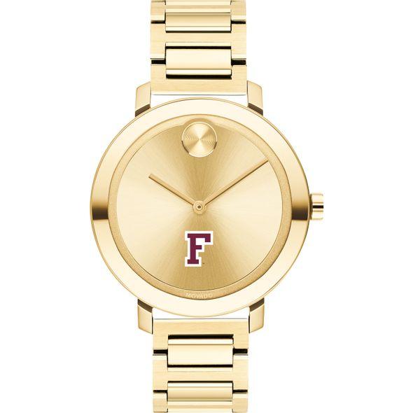 Fordham University Women's Movado Gold Bold 34 - Image 2