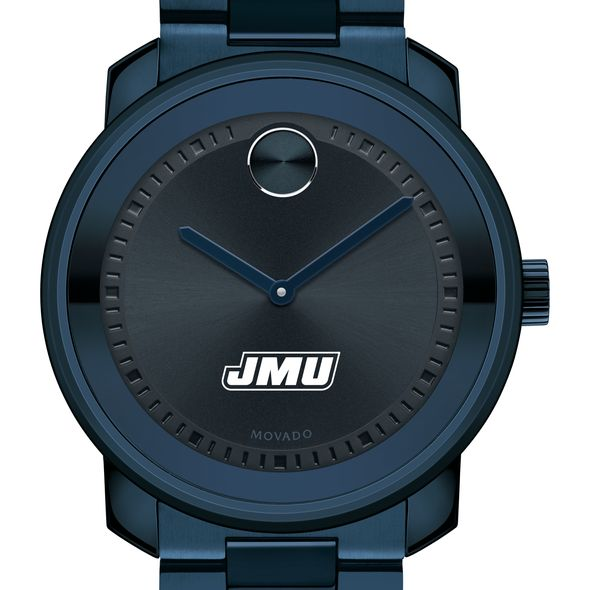 James Madison University Men's Movado BOLD Blue Ion with Bracelet