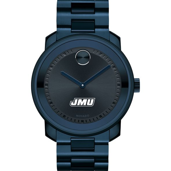 James Madison University Men's Movado BOLD Blue Ion with Bracelet - Image 2